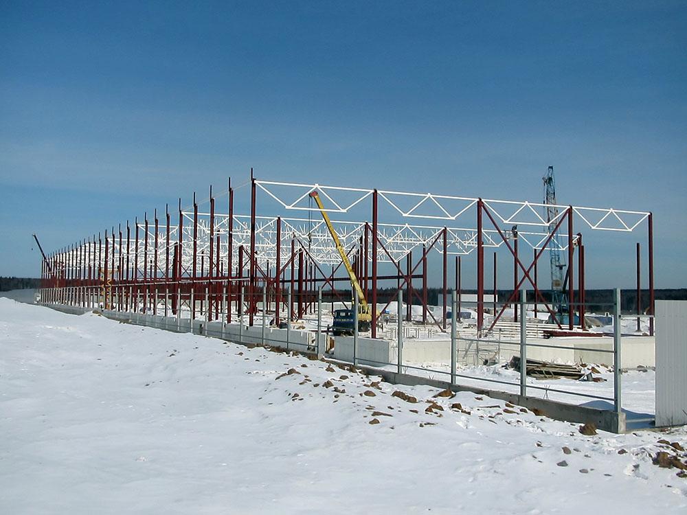 Строительство зданий инструментального контроля, автомойки МО д. Покровское - Компания СМК